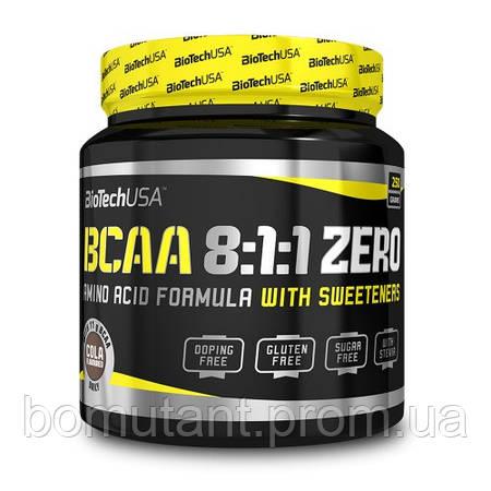 BCAA 8:1:1 ZERO 250 гр cola BioTech