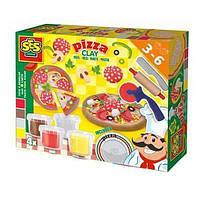 Незасыхающая масса для лепки Ses Пицца (0445S)