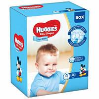 Подгузники Хаггис Huggies Ultra Comfort для мальчиков BOX 4 (7-16кг) 96 шт.