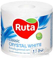 """Бумага туалетная """"Ruta Classic"""" 2-слойная 1рул. белая"""