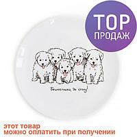 Детская тарелка Щенята / посуда для детей