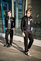 Мужской спортивный костюм BMW  MAW manandwolf черный