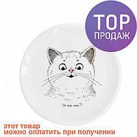Детская тарелка Милый Котик / посуда для детей