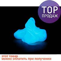 Хендгам Светящийся Голубой 80г (запах сладкой жвачки) / Пластилин для рук