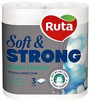 Полотенца бумажные Ruta Soft Strong 2 рул
