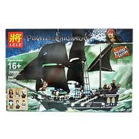 Конструктор LELE 39009 (аналог LEGO 4184 Пираты Карибского моря: Черная Жемчужина)