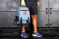 Детский портфель для школы, бирюзовый