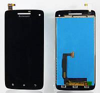 Дисплей Lenovo S960 леново Vibe X с тачскрином в сборе, цвет черный