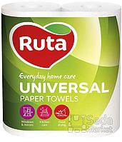 "Полотенца бумажные ""Ruta Universal"" 2рул. белые"