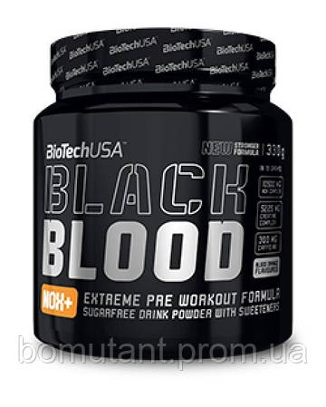 Black Blood NOX+ 330 гр blood orange BioTech
