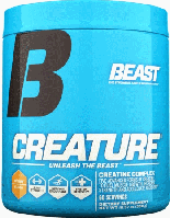 Креатин, Beast Sports Nutrition, Creature Powder, 60 порций