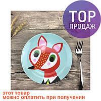 Детская тарелочка Fox / посуда для детей