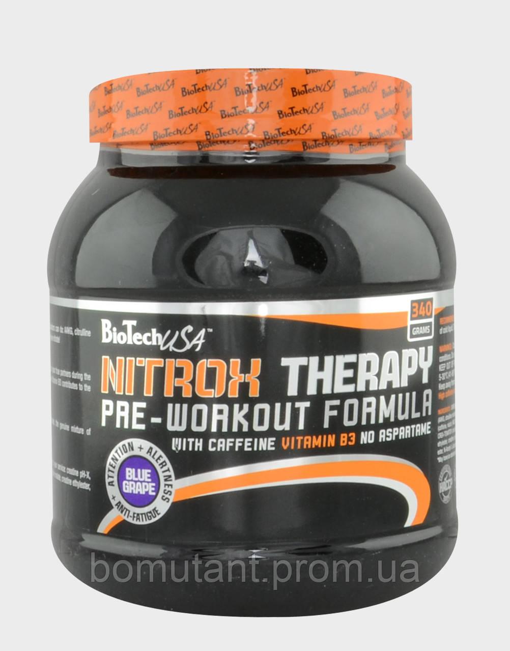 Nitrox Therapy 340 гр blue grape BioTech