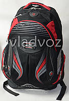 Школьный рюкзак для мальчиков Modern DFW черный с красным