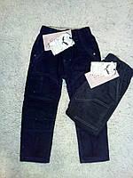 Утепленные вельветовые брюки на флисовой подкладке для мальчиков 98-128 см