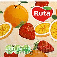 Салфетки Ruta Art 33 * 33 20шт в уп. кухня Микс