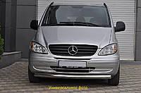 Защита переднего бампера (кенгурятник) Toyota Land Cruiser 100 (1997-2006) / ус одинарный