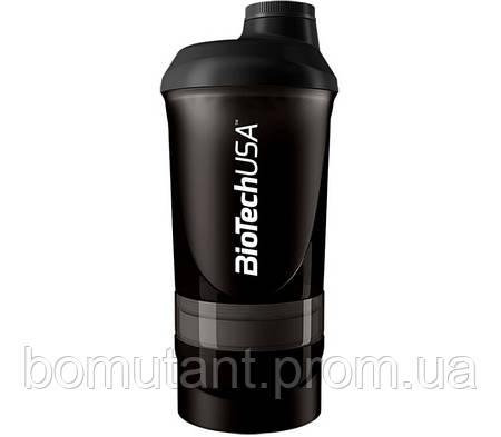 "Shaker Wave + 3 in 1 500 ml ""Black"" BioTech"