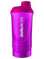 "Shaker Wave + 3 in 1 500 ml ""Magic Magenta"" BioTech"