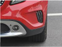 Mercedes GLA Решетки в бампер (2 шт)