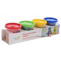 Набор для лепки Тесто-пластилин 4 цвета Genio kids TA1010