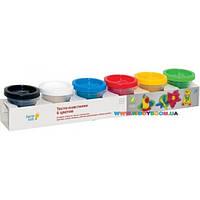 Набор для лепки Тесто-пластилин 6 цветов Genio kids TA1009