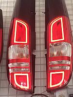 Mercedes Viano Задние фонари с LED габаритами