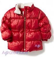 OldNavy Куртка на девочку красная, Red