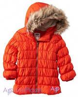 OldNavy Куртка оранжевая на девочку 0-24