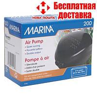 Компрессор Hagen Marina 200 Air pump двухканальный