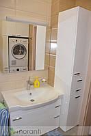Тумба в ванную с пеналом и шкафом для стиральной машины