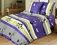 Ткань для постельного белья, бязь (хлопок) Мотыльки