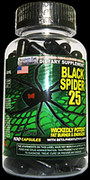 Жиросжигатель, Cloma Pharma, Black spider, 100 капсул