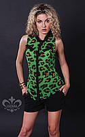 """Женская блуза """"Колибри"""" (лео №2), фото 1"""