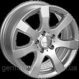 "Диски от Tomason ( Томасон ) модель TN3 цвет Silver painted параметры 5,5J x 14"" PCD 4 x 98 ET 35"