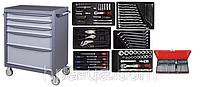 Универсальная тележка с инструментом 142 предметов AmPro
