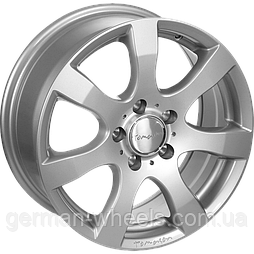 "Диски от Tomason ( Томасон ) модель TN3 цвет Silver painted параметры 5,5J x 14"" PCD 4 x 100 ET 35"