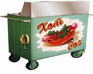 Тележка для хот догов ПП-Г КИЙ-В, газовый прилавок для хот дога