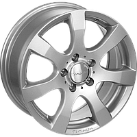 "Диски от Tomason ( Томасон ) модель TN3 цвет Silver painted параметры 5,5J x 14"" PCD 4 x 100 ET 43"