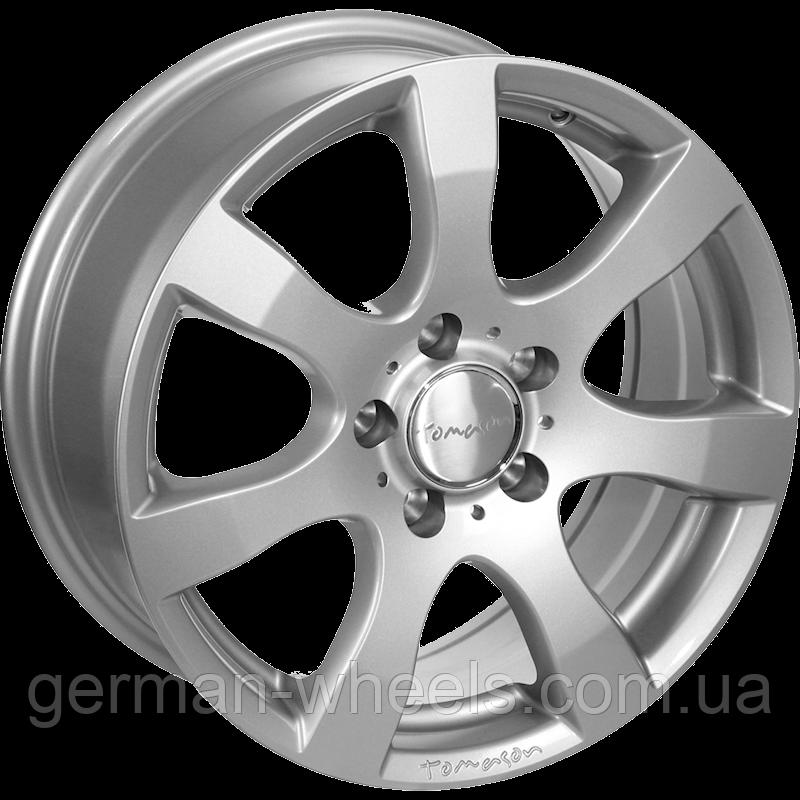 "Диски от Tomason ( Томасон ) модель TN3 цвет Silver painted параметры 5,5J x 14"" PCD 4 x 108 ET 24"
