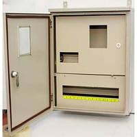 Щит учета распределительный металлический ЩУР-3-15А 3Ф гермет (две двери)