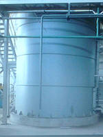 Промышленная емкость для воды
