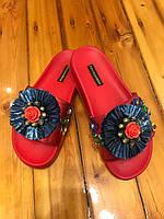 Слиперы женские Dolce&Gabbana оригинал .