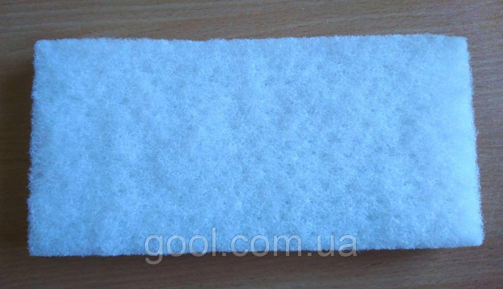 Губка мочалка белая Мапей для очистки эпоксидной и цементной затирки