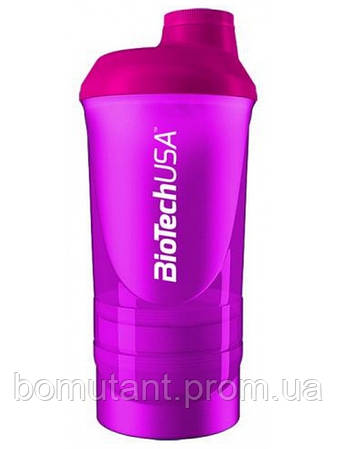 "Shaker Wave + 3 in 1 500 ml ""Magic Magenta"" BioTech"