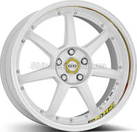 Литые диски DOTZ Fast Seven drift 9.5x19/5x114.3 D71.6 ET35 (White Polished)