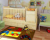 """Детская кроватка-трансформер """"Classic"""" (клен танзау)"""