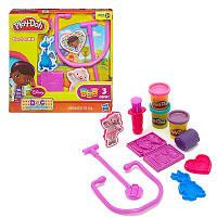 Игровой набор пластилина Доктор Плюшева Плей До/Play-Doh