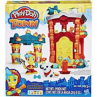 Игровой набор пластилина Город Пожарная станция Плей До/Play-Doh