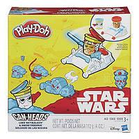 Игровой набор пластилина Звездные воины Люк Скайуокер и STAR WARS LUKE SKYWALKER AND SNOПлей До/Play-Doh B2918